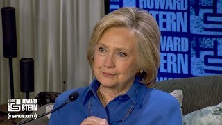 Hillary Clinton on the Howard Stern Show Pt. 2