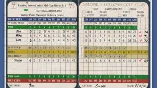 How To Determine Your Golf Handicap, Strokes and Net Score Using Course Rating & Slope