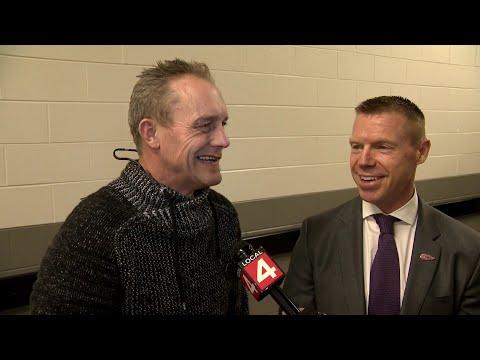 Kris Draper, Darren McCarty react to Steve Yzerman returning to Detroit Red Wings