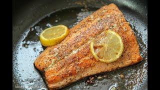 Pan Seared Lemon Butter Salmon - Ep 412
