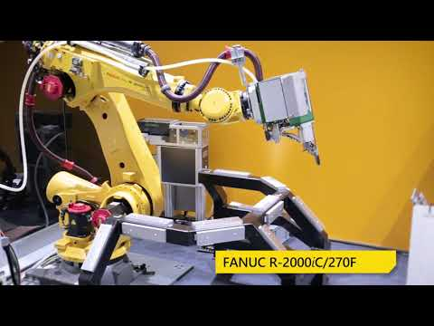 EMO 2017 Video episode 2: Drill Flow Screwing at its finest R-2000iC/270F