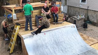 Insanely Perfect Backyard Mini Ramp Session