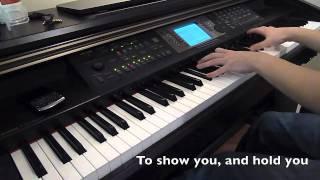 Eenie Meenie - Sean Kingston And Justin Bieber (Piano Cover) With LYRICS