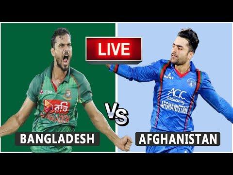 Bangladesh VS Afghanistan Live Match | CWC19 | BD VS AFG | Live Score and Reaction