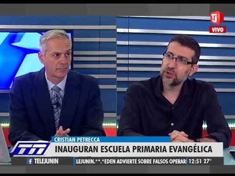 """Abre sus puertas la escuela Primaria Evangélica """"Pastor Bauman"""" en Junín"""
