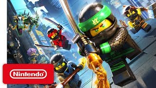 LEGO Ninjago Movie Video Game Launch Trailer - Nintendo Switch