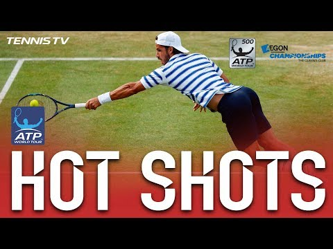 Hot Shot: Lopez Diving Volley At Queen's Club 2017
