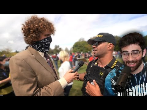 HasanAbi Reacts To All Gas No Breaks Proud Boys Rally