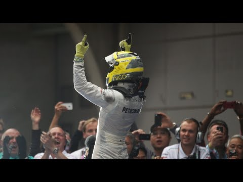 Rosberg Takes Mercedes' First Win Since 1955 | 2012 Chinese Grand Prix