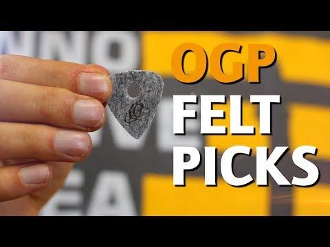 ORTEGA GUITARS | OGP FELT PICKS