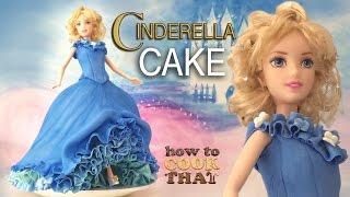 DISNEY PRINCESS CINDERELLA CAKE TUTORIAL How To Cook That Ann Reardon