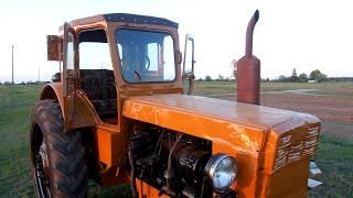 трактор т 40 - финал работ по ремонту\tractor t 40 - final repair works