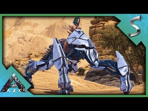 CRAFTING AN ASCENDANT ENFORCER! - Ark: Extinction [DLC Gameplay E19]