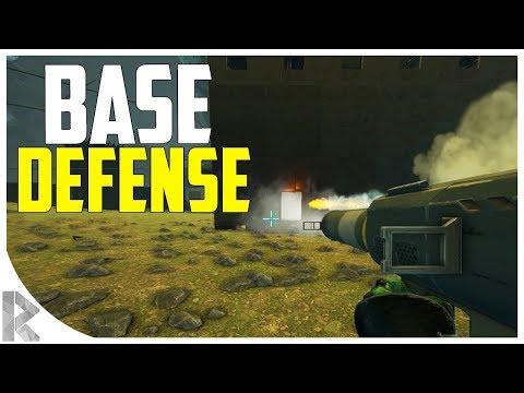 BASE DEFENSE! Part 1/2 - Getting Raided - Ark Aberration Expansion Pack PVP #26