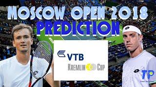 Moscow Open 2018 | Prediction