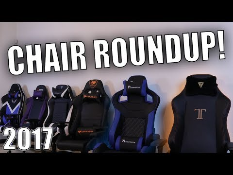 Buy the Best Gaming Chair! – Gaming Chair Roundup 2017