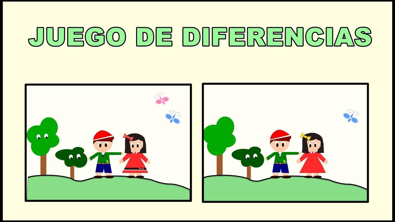 Juego Educativo de las Diferencias - Vídeos educativos para Niños y Bebés -  Paty y Poty