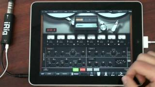 AmpliTube 2 for iPad and iRig - Record a Full Song on Your iPad