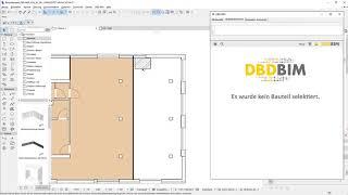 DBD-BIM Plug-in für ARCHICAD - Einstieg