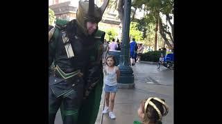 Loki, we meet again!  Baby Loki goes on Another Adventure at Disney California Adventure