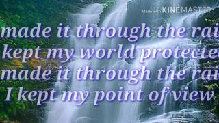I MADE IT THROUGH THE RAIN with Lyrics By:Barry Manilow