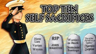 Top Ten Video Game Self Sacrifices