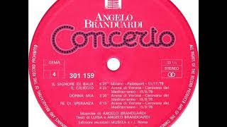 Angelo Branduardi - Donna Mia (Concerto 1980)