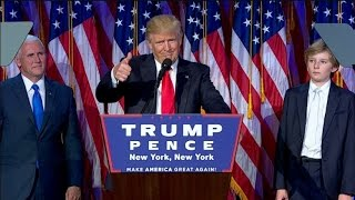 America Loses: Donald Trump Elected President of the United States