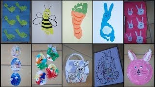 9 EASTER CRAFTS FOR TODDLERS & KIDS!