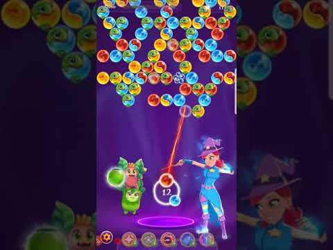 Bubble Witch 3 Saga level 1951 ~ no boosters no cats