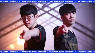 « ONE MISSION: WIN WORLDS », teaser du quart de finale EDG vs RNG - Worlds 2021