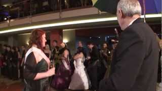 preview picture of video 'Maturitní ples 4.B SPŠStavební, Stužkování, Parkhotel Plzeň, 28. 1. 2012.'