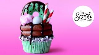 CHOC MINT FREAKSHAKE CUPCAKES ft. Yolanda Gampp from How To Cake It! - The Scran Line