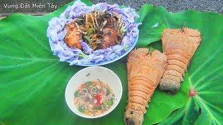 Lần đầu ăn Mì Siêu Cay Siêu Cấp Độ - Mì Tôm xào Hoa Lục Bình