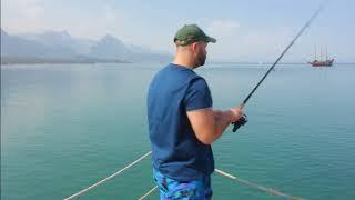 Рыбалка в турции с берега на спиннинг