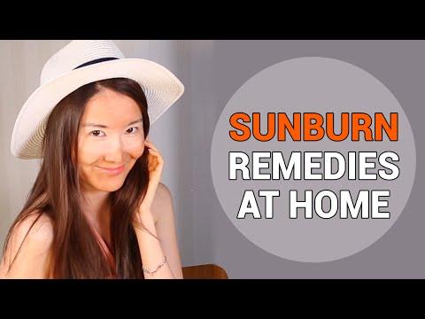 Video Treating Sunburnt Skin | Sunburn Remedies at Home | Wishtrend