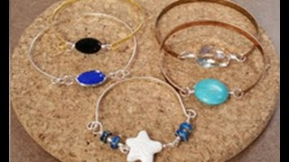 Katie Hacker Makes Beaded Bangle Bracelets On Beads, Baubles & Jewels (2301-2)