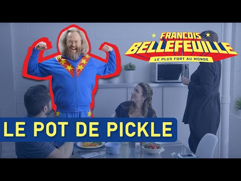Le plus fort au monde - le pot de pickles