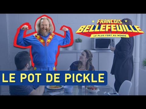 Le plus fort au monde - le pot de pickles