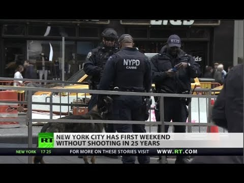 New York City Goes One Weekend Without a Shooting