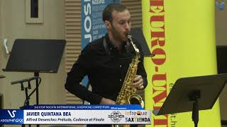 Javier Quintana Bea plays Prelude, Cadence et Finale by Alfred Desenclos