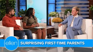 Jeannie and Ellen Stun Extraordinary First-Time Parents-to-Be