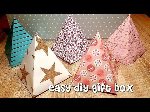 Geschenkbox basteln/DIY Gift Box