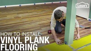 How To Install Waterproof Vinyl Plank Flooring | DIY Flooring Installation
