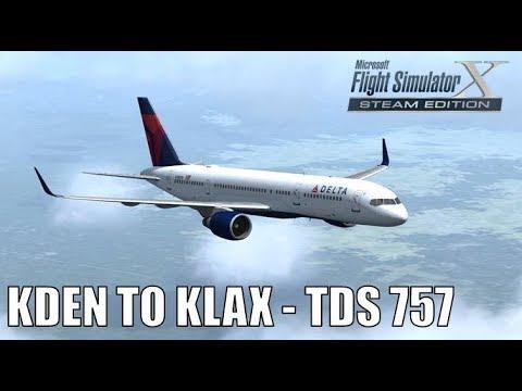 Delta 1058 - 757-200 Atlanta to Orlando [VATSIM] - смотреть