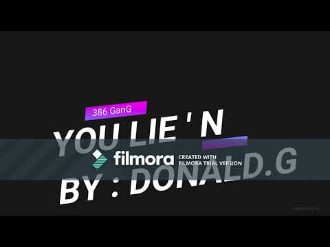 YOU lie'n by : DONALD.G   G GRANT