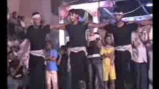 الفنان سمير موسى ومع الدبكة الشعبية وفرقة فتح العاصة