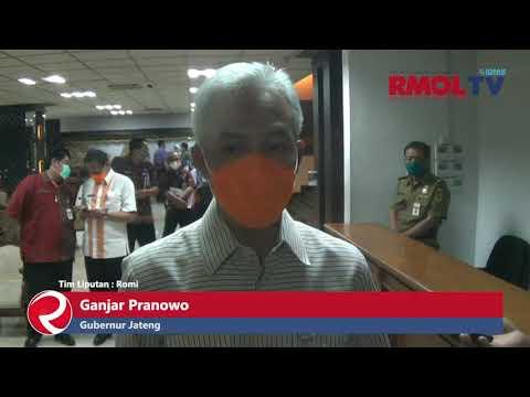 Ganjar Pranowo Siap Temani Presiden Jadi Penerima Vaksin Pertama