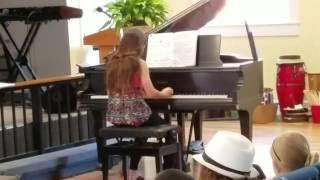 Lita's piano recital.