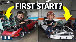 Build & Battle: Whose Engine Starts First?? 13b Rotary vs LS V8 EP.6